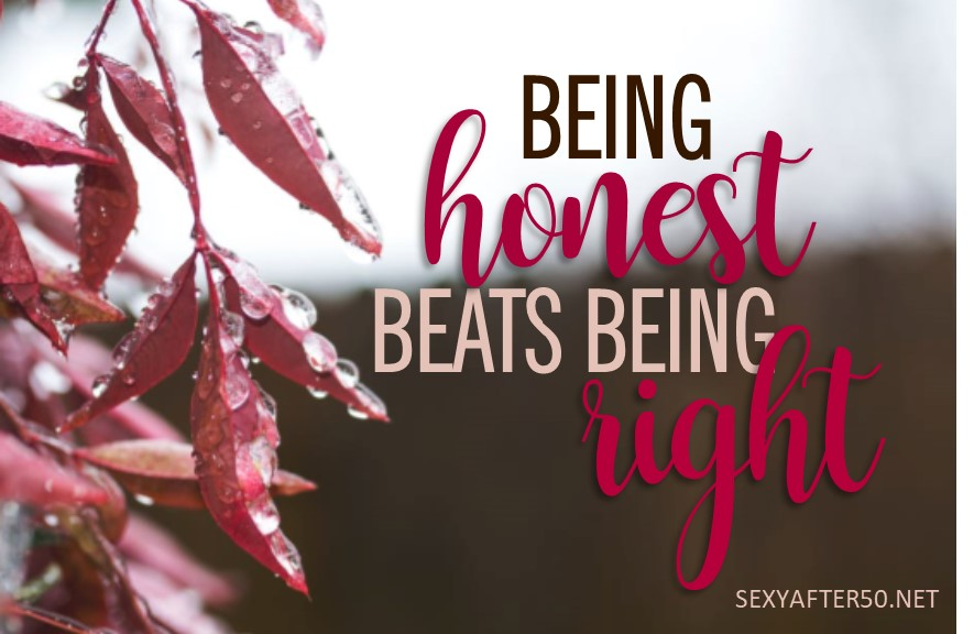 Being honest-horiz